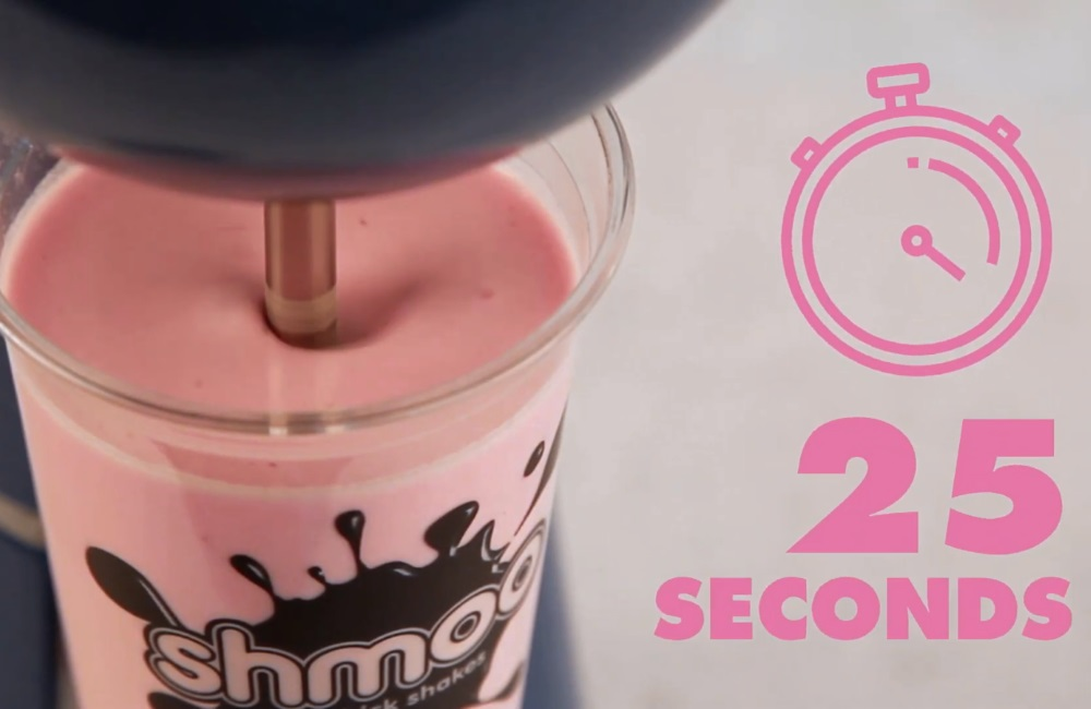 How to make a Shmoo milkshake