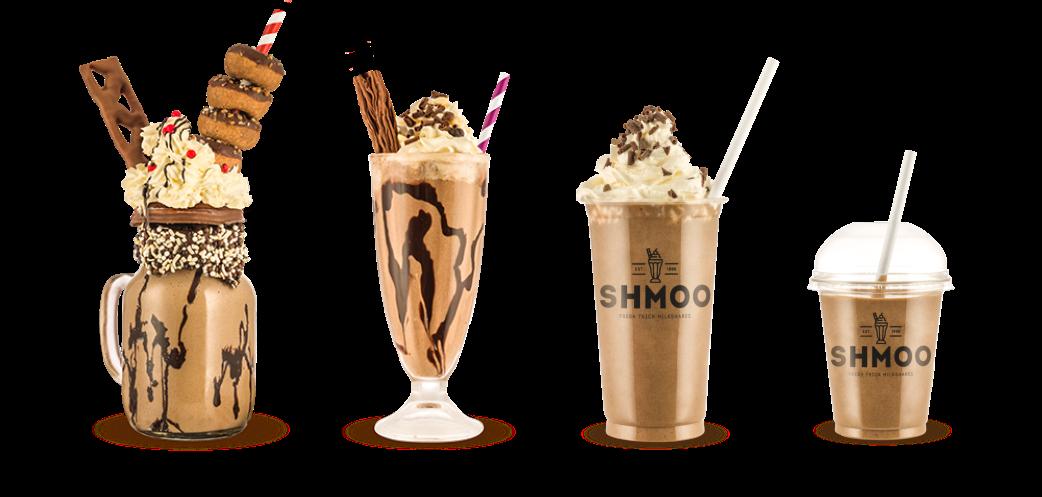 chocolate milkshake banner
